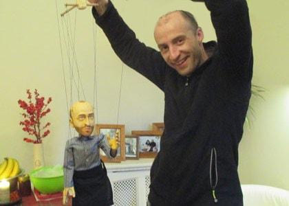 Czech Puppets workshop , PORTRAIT PUPPETS