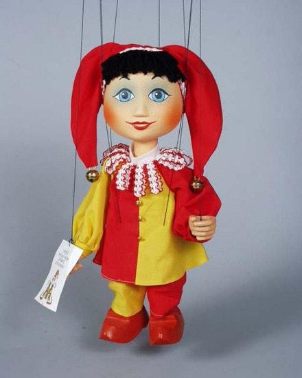 Buffoon , marionette puppet