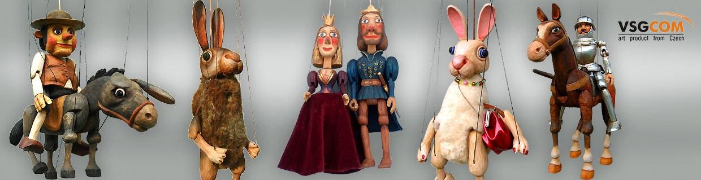 Designer puppets