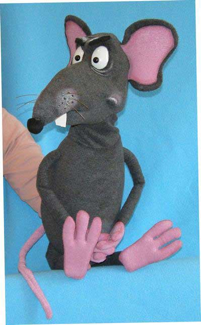 "Turkey For Sale >> Buy Rat Foam Puppets | Size 31"", Code: MP062 