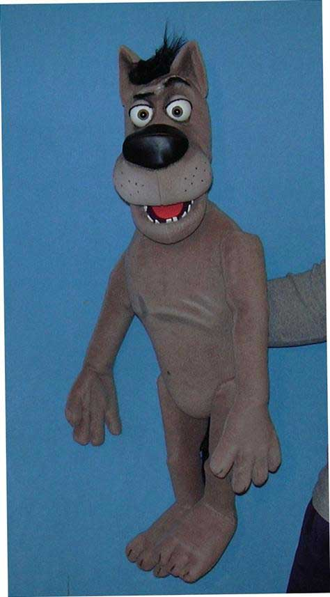 Buy Wolf Foam Ventriloquist Puppet Dummy Doll Online