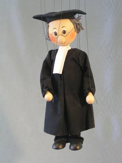 Barrister marionette