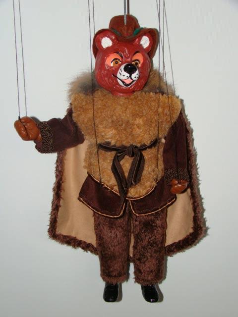 Bear marionette