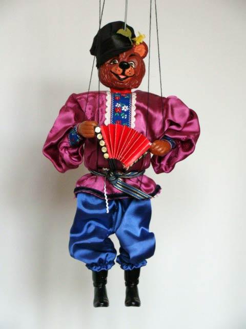 Bear, marionette puppet
