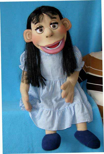 Bella ,  foam puppet doll