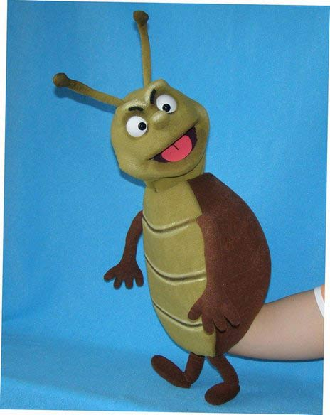Buggins Bug ,  foam puppet doll