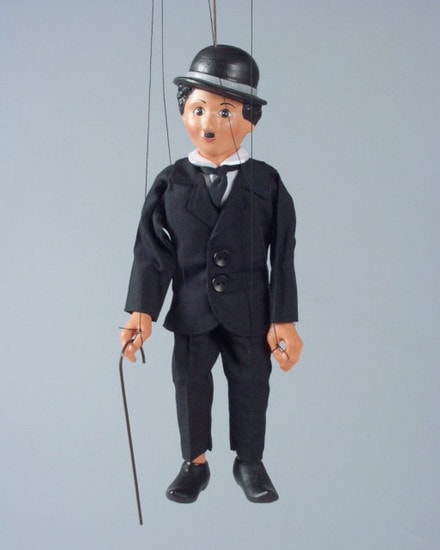 Chaplin , puppet marionette