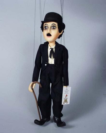 Chaplin , marionette puppet