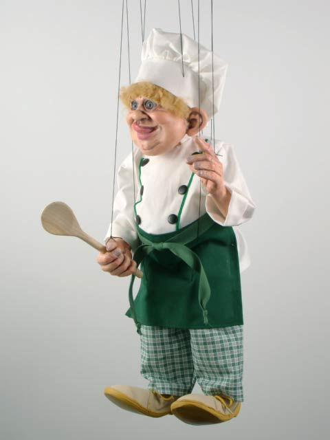 Cook marionette