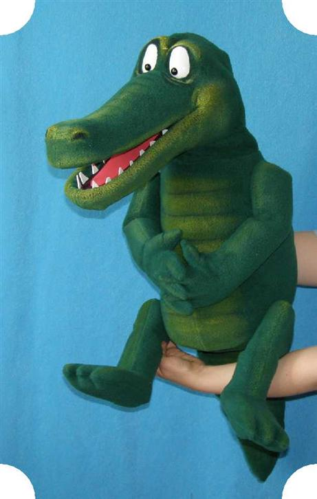 Crocodile ,  puppet doll