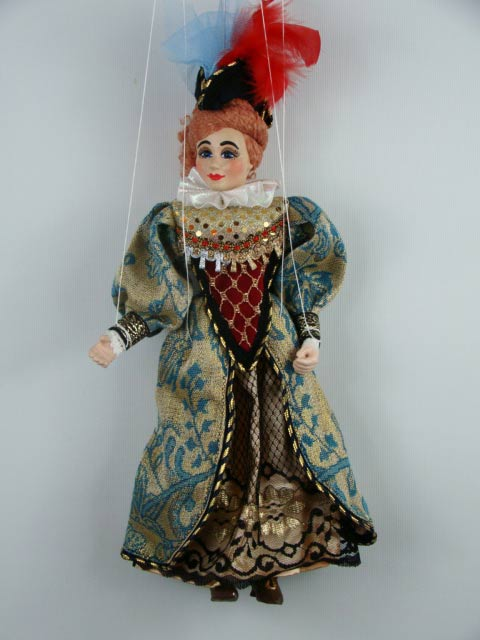 Dame, marionette puppet
