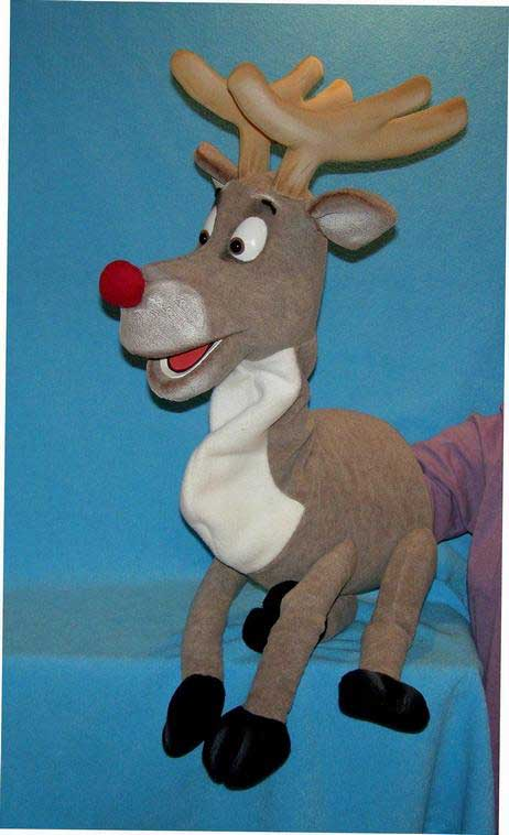 Deer foam puppet