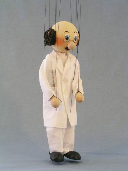Doctor , marionette puppet