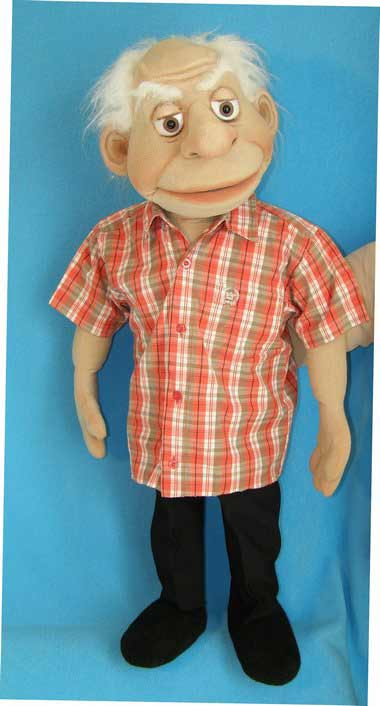 Ed ,  foam puppet doll