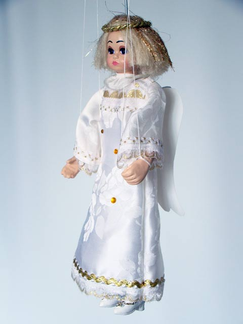 Angel marionette puppet