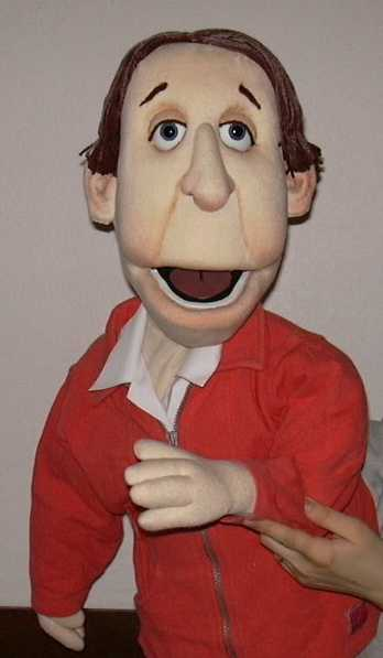 Evelyn foam puppet