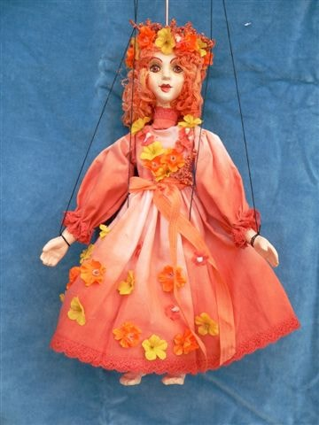 Fairy , puppet marionette