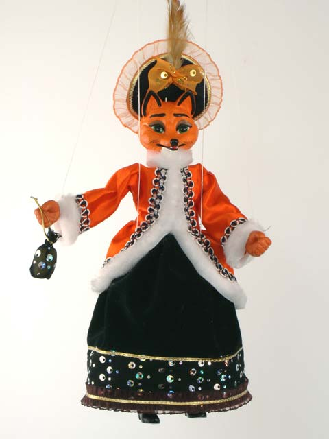 Fantastic Mr Fox, marionette puppet