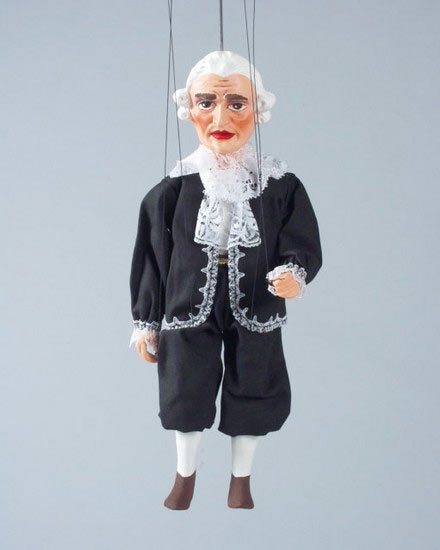 Footman , puppet marionette