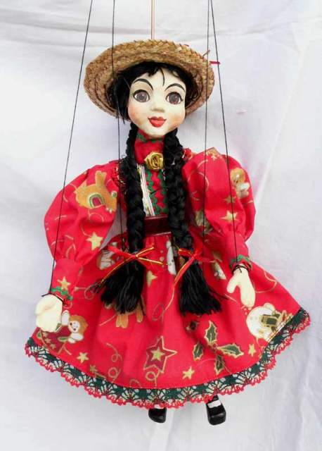 Gipsy , puppet marionette