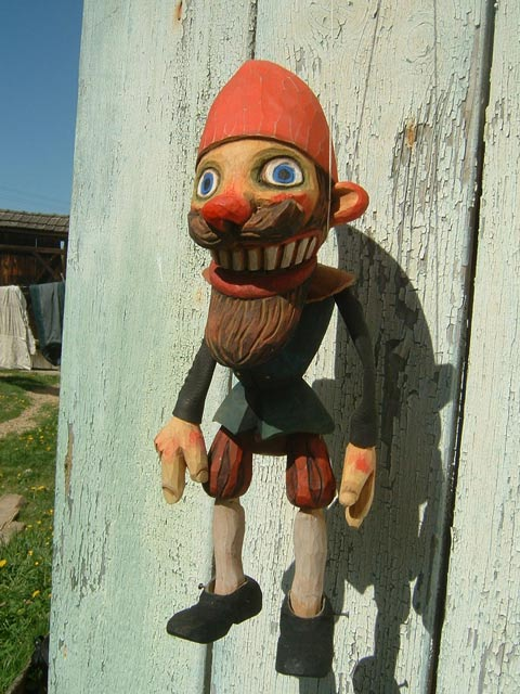 Gnome ,  marionette puppet