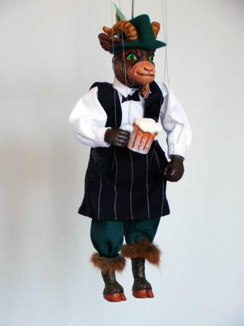 Goat marionette
