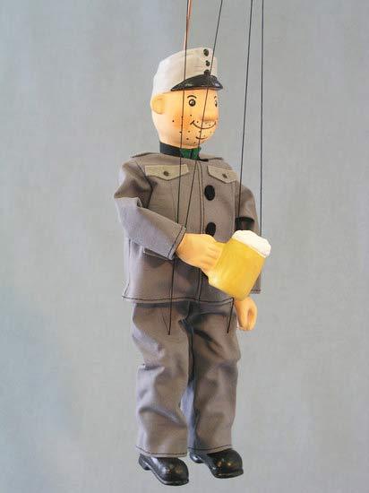 Good Soldier Svejk , puppet marionette
