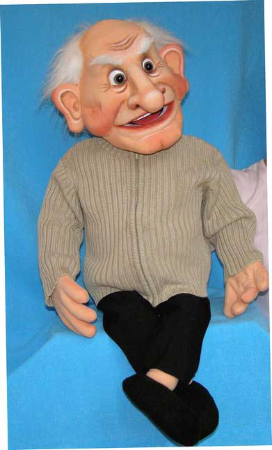 Greg ,  foam puppet doll