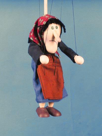 Harridan , marionette puppet