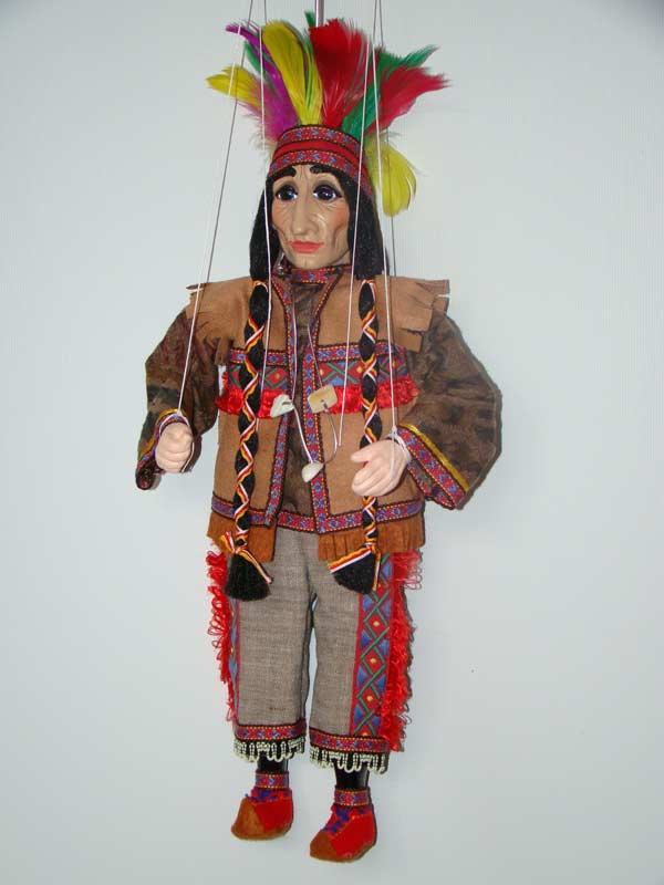 Indian, marionette puppet