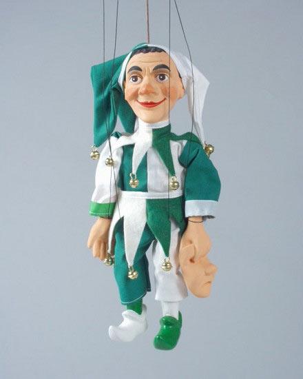 Jack pudding , puppet marionette