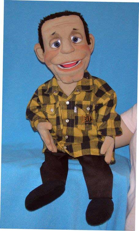 Jeff foam puppet