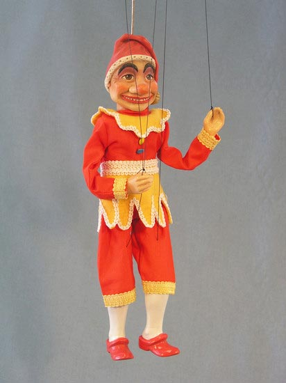 Jester , puppet marionette