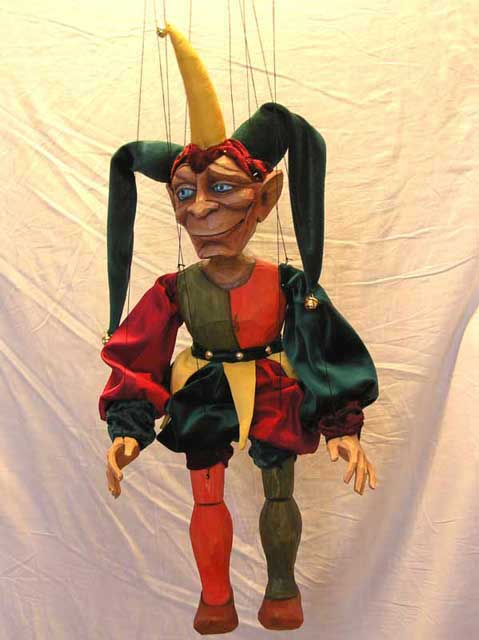 Jester ,  marionette puppet