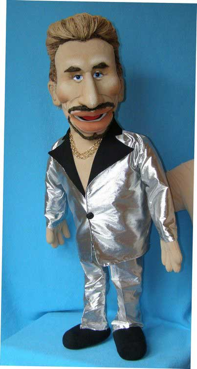 Johnny the Singer foam puppet