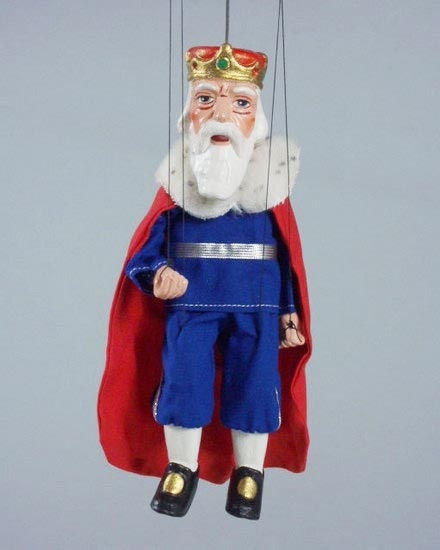 King , marionette puppet