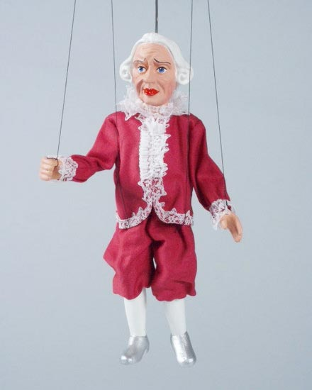 Lackey , marionette puppet