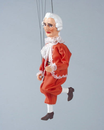 Lackey , puppet marionette