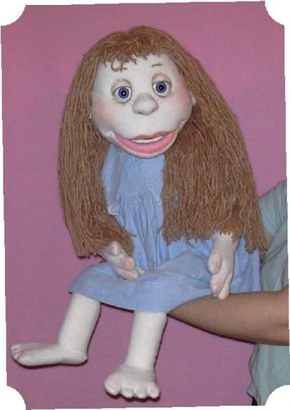 Maggy ,  foam puppet doll