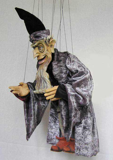 Magician, Wizard  ,  marionette puppet