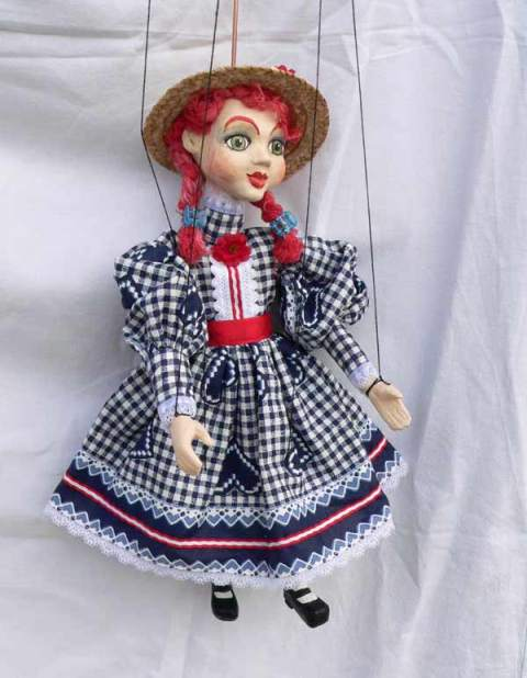 Mary , puppet marionette