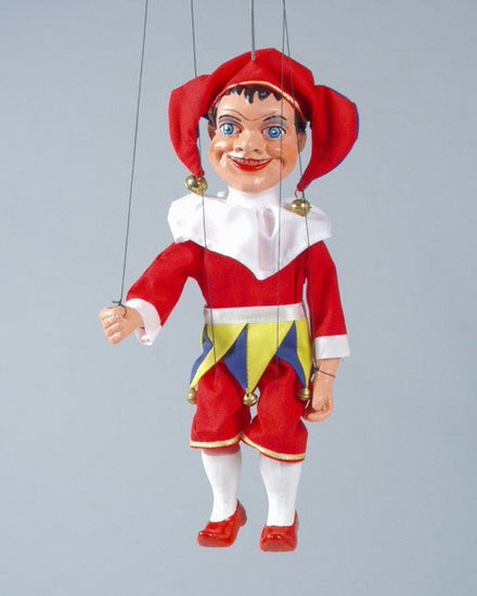 Merry-andrew , puppet marionette
