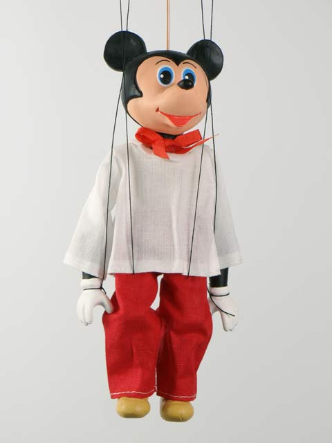 Mickey Mouse marionette