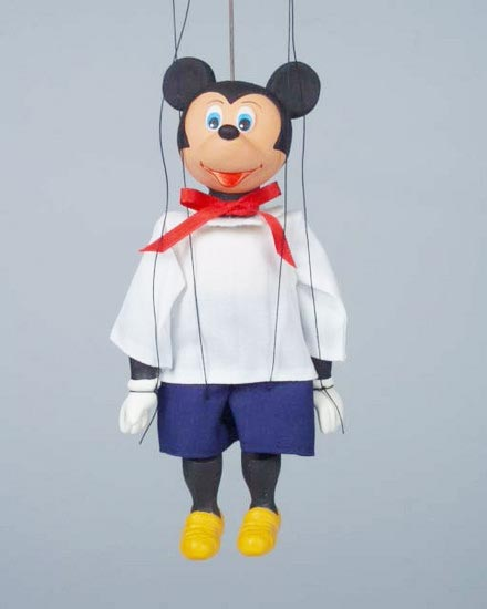 Mickey Mouse , marionette puppet