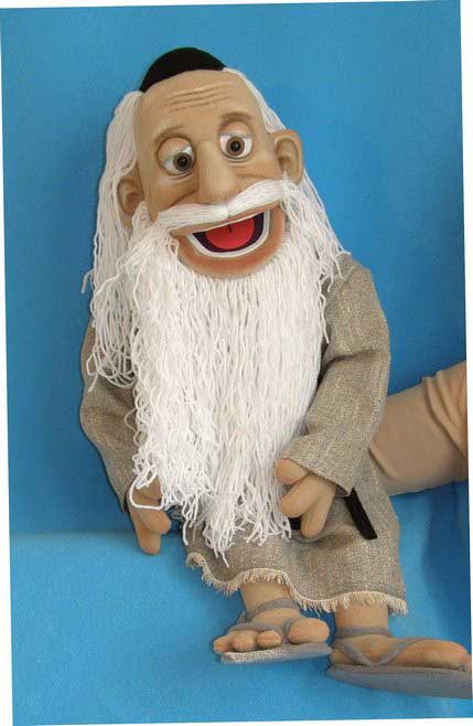 Moses ,  foam puppet doll
