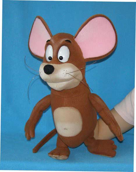 Mouse foam puppet