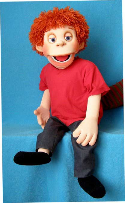 Norman foam puppet