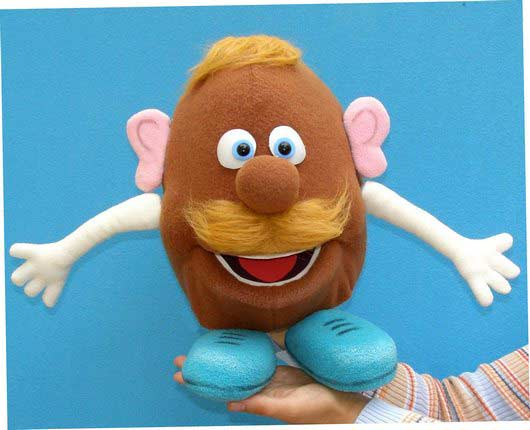 Potato foam puppet