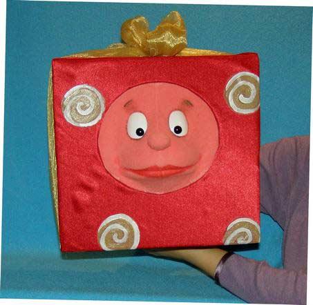Present ,  foam puppet doll