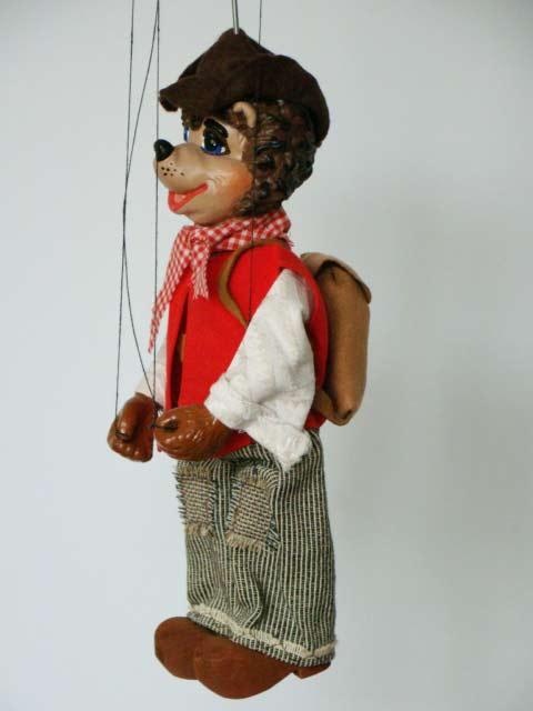 Puppy, marionette puppet